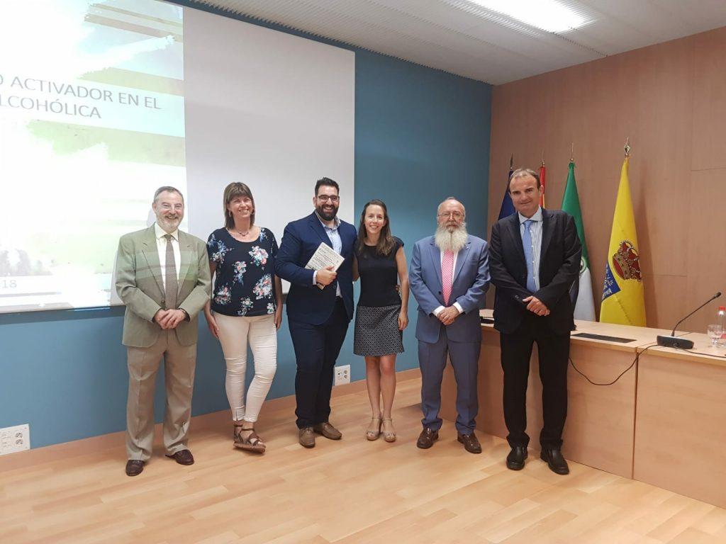 Acto de defensa de la tesis doctoral de  ANTONIO AMORES ARROCHA