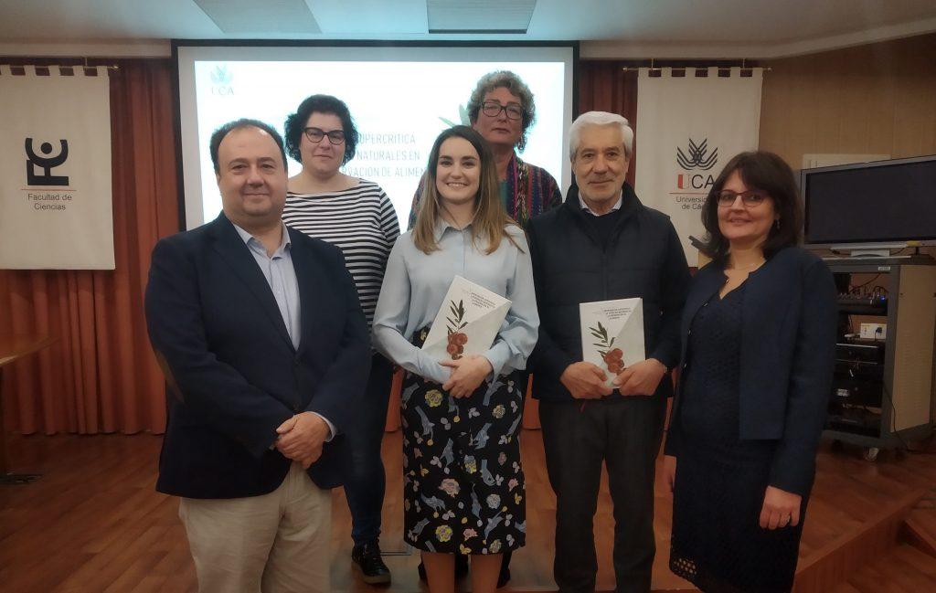 Acto de defensa de la Tesis Doctoral de Cristina Cejudo